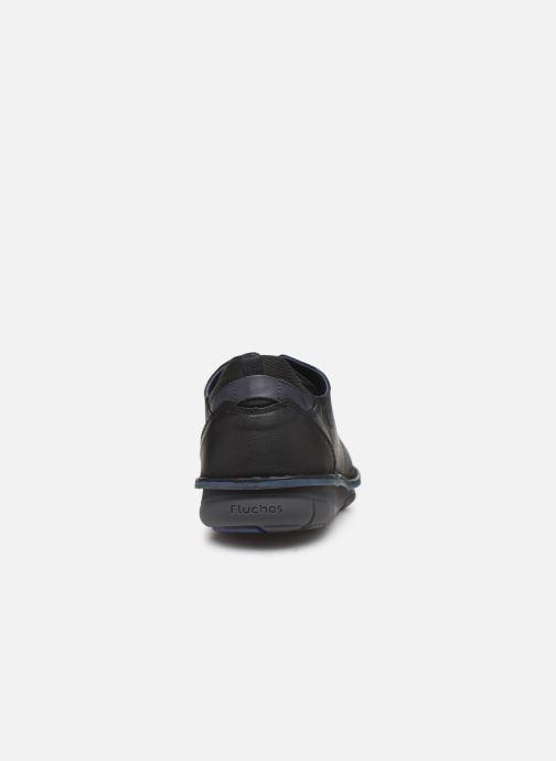 Baskets Fluchos Alfa 0700 Noir vue droite