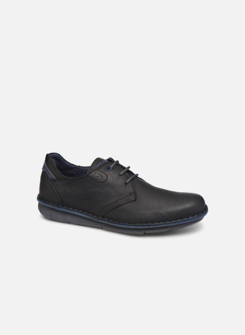 Sneakers Fluchos Alfa 0700 Sort detaljeret billede af skoene