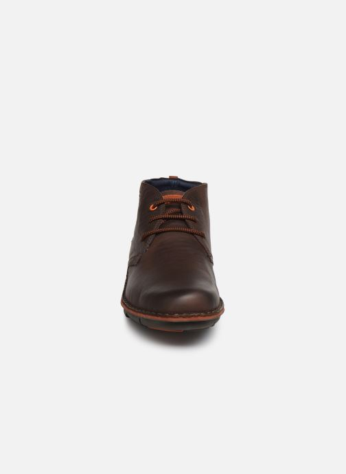 Ankle boots Fluchos Alfa 0701 Brown model view