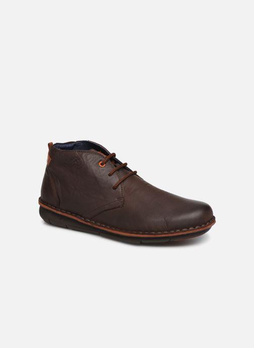 Ankelstøvler Fluchos Alfa 0701 Brun detaljeret billede af skoene