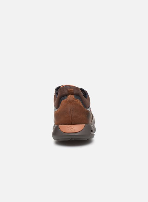 Trainers Fluchos Cypher 0659 Brown view from the right