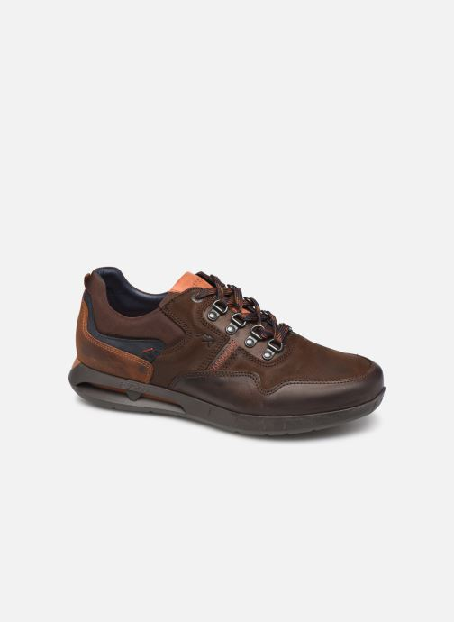 Trainers Fluchos Cypher 0659 Brown detailed view/ Pair view