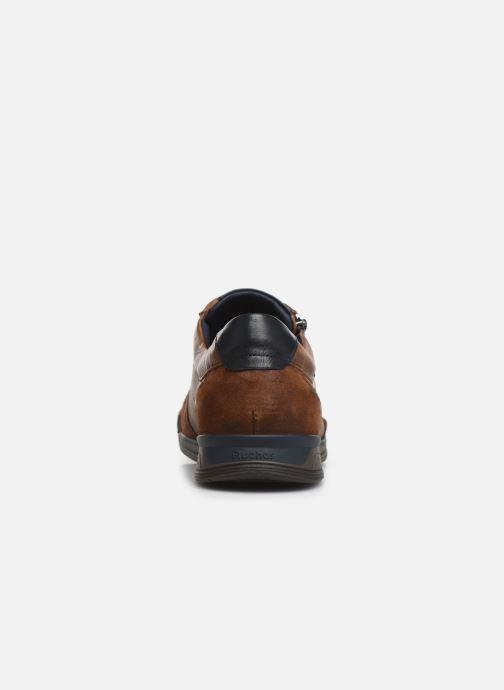Sneakers Fluchos Etna 0251 Brun Se fra højre