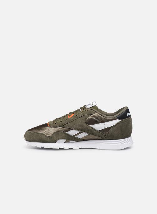 Sneakers Reebok Cl Nylon Mu Groen voorkant