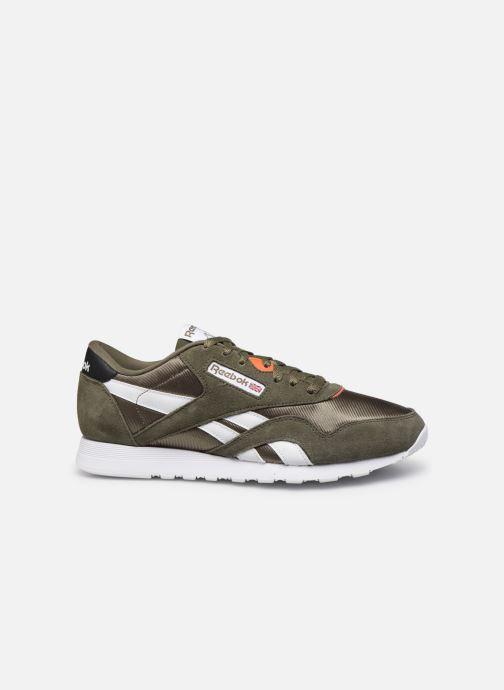 Sneakers Reebok Cl Nylon Mu Groen achterkant