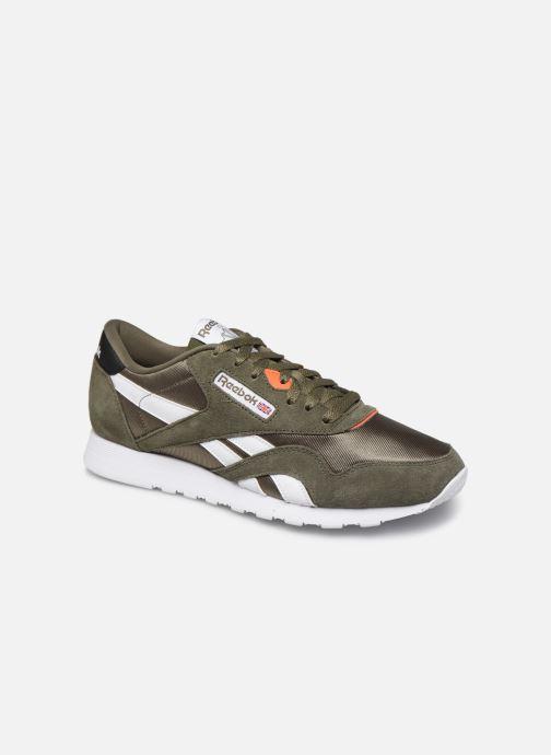 Sneakers Reebok Cl Nylon Mu Groen detail