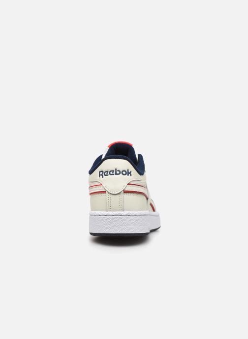 Baskets Reebok CLUB C REVENGE MU Blanc vue droite