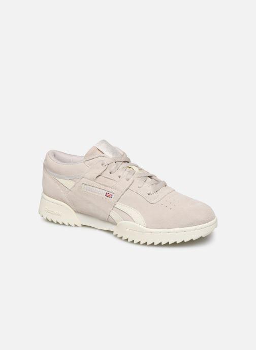 Sneakers Reebok Workout Clean Ripple Mu Grijs detail
