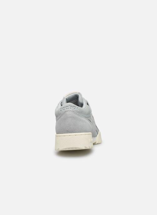 Sneakers Reebok Workout Clean Ripple Mu Azzurro immagine destra
