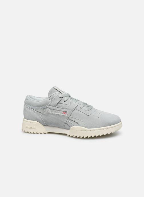 Sneakers Reebok Workout Clean Ripple Mu Blauw achterkant