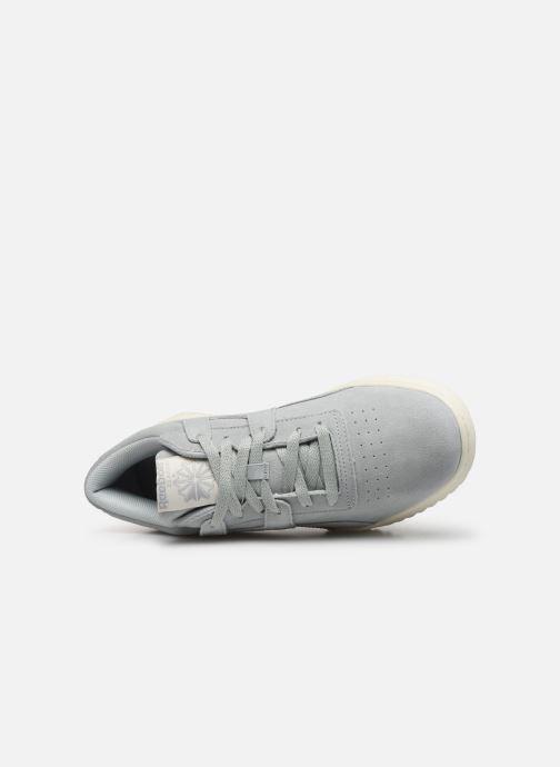 Sneakers Reebok Workout Clean Ripple Mu Azzurro immagine sinistra