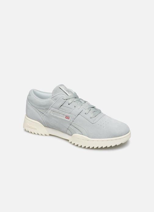 Sneakers Reebok Workout Clean Ripple Mu Blauw detail