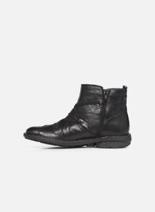 Bottines et boots Dorking Medina 8010 Noir vue face
