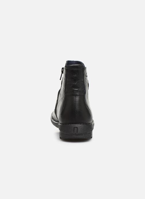 Bottines et boots Dorking Medina 8010 Noir vue droite