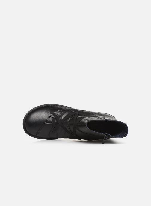Bottines et boots Dorking Medina 8010 Noir vue gauche