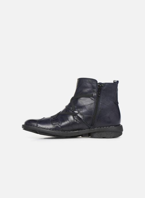 Bottines et boots Dorking Medina 8010 Bleu vue face
