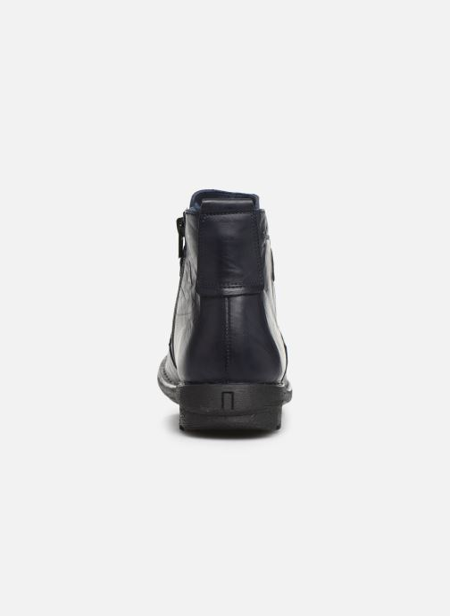 Bottines et boots Dorking Medina 8010 Bleu vue droite