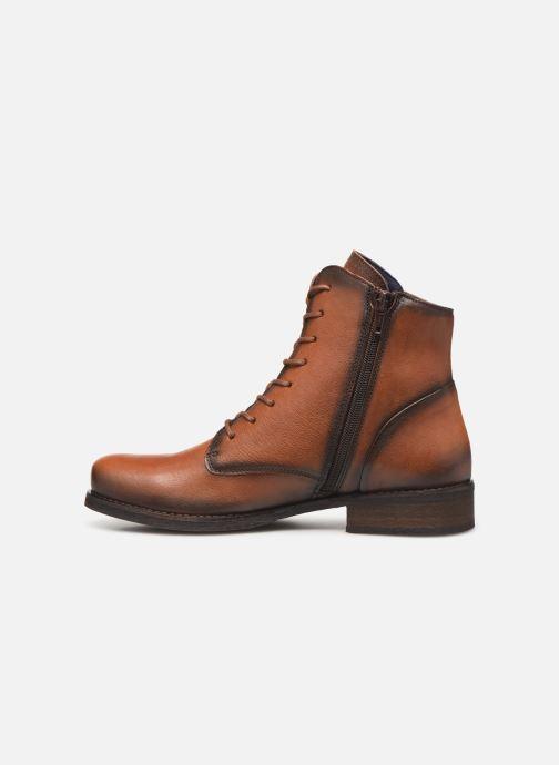 Bottines et boots Dorking Vera 8067 Marron vue face
