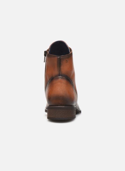 Bottines et boots Dorking Vera 8067 Marron vue droite