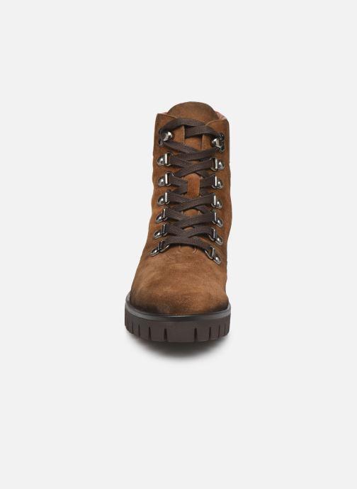 Bottines et boots Dorking Azor 8074 Marron vue portées chaussures