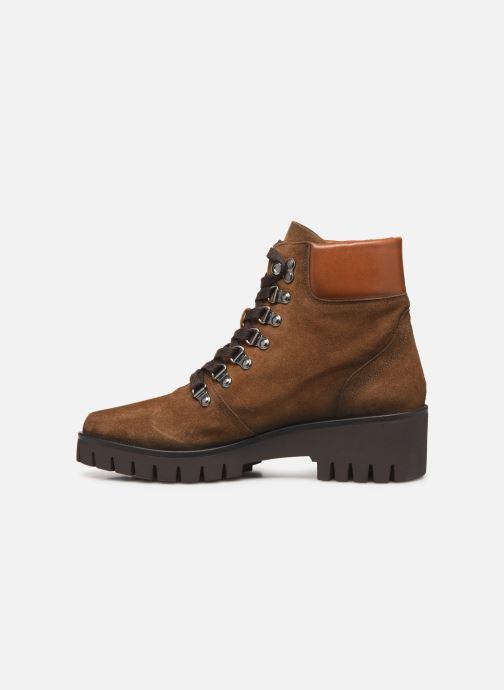 Boots en enkellaarsjes Dorking Azor 8074 Bruin voorkant