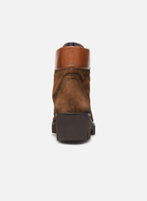Bottines et boots Dorking Azor 8074 Marron vue droite