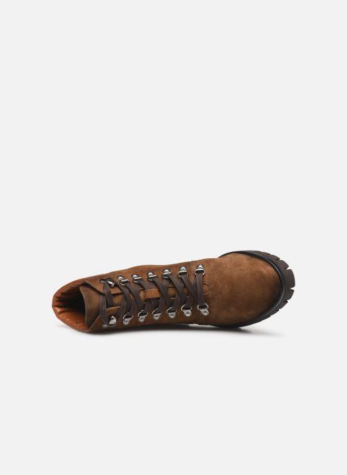 Boots en enkellaarsjes Dorking Azor 8074 Bruin links