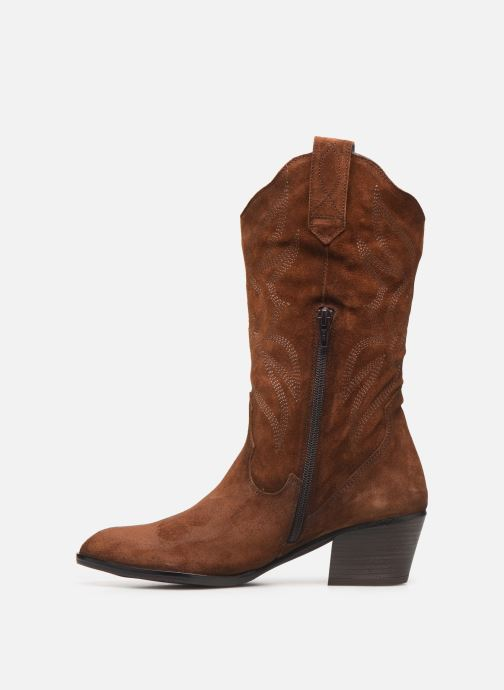 Bottines et boots Dorking Urs 8022 Marron vue face