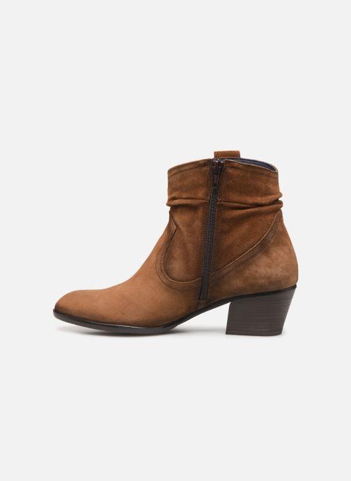 Bottines et boots Dorking Urs 8019 Marron vue face