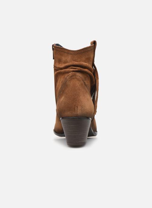 Boots en enkellaarsjes Dorking Urs 8019 Bruin rechts