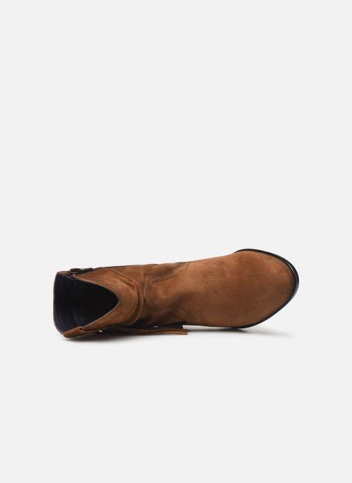 Boots en enkellaarsjes Dorking Urs 8019 Bruin links