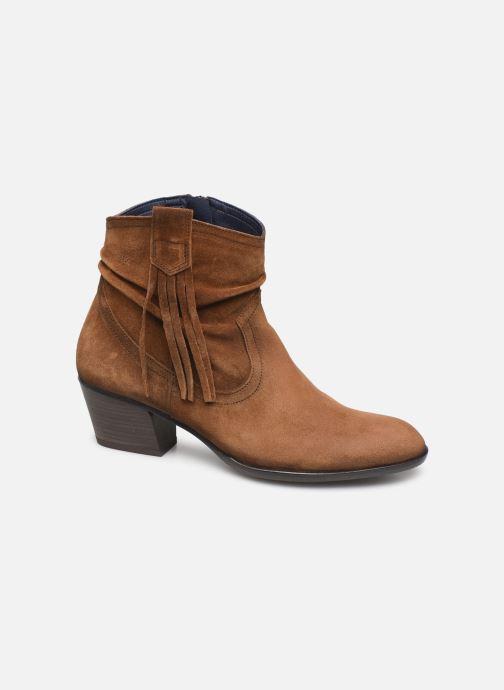 Boots en enkellaarsjes Dorking Urs 8019 Bruin detail