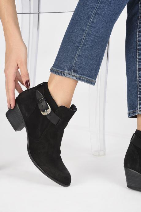 Bottines et boots Dorking Urs 8021 Noir vue bas / vue portée sac