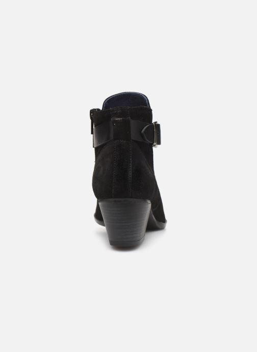 Bottines et boots Dorking Urs 8021 Noir vue droite