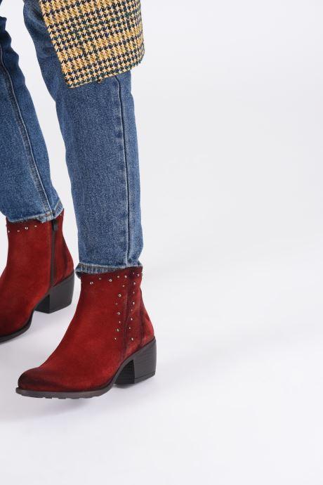 Bottines et boots Dorking Jump 8099 Rouge vue bas / vue portée sac