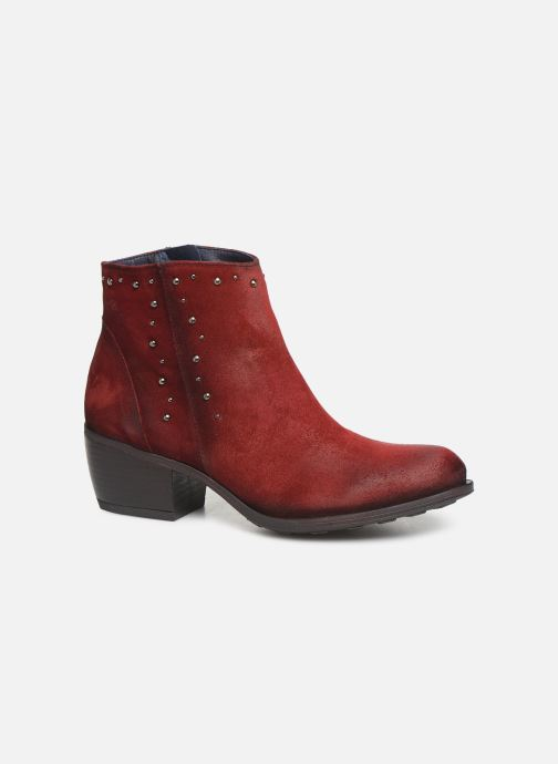 Ankelstøvler Dorking Jump 8099 Rød detaljeret billede af skoene