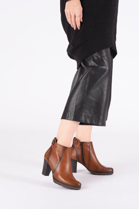 Bottines et boots Dorking Reina 7961 Marron vue bas / vue portée sac