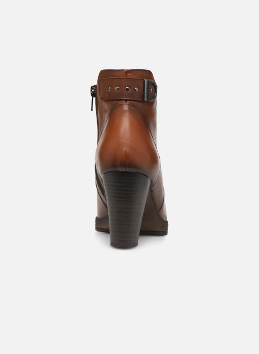 Bottines et boots Dorking Reina 7961 Marron vue droite