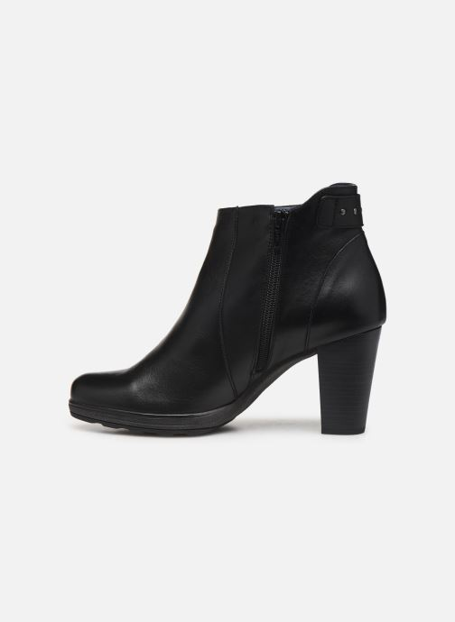 Bottines et boots Dorking Reina 7961 Noir vue face