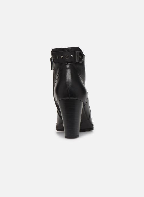 Bottines et boots Dorking Reina 7961 Noir vue droite