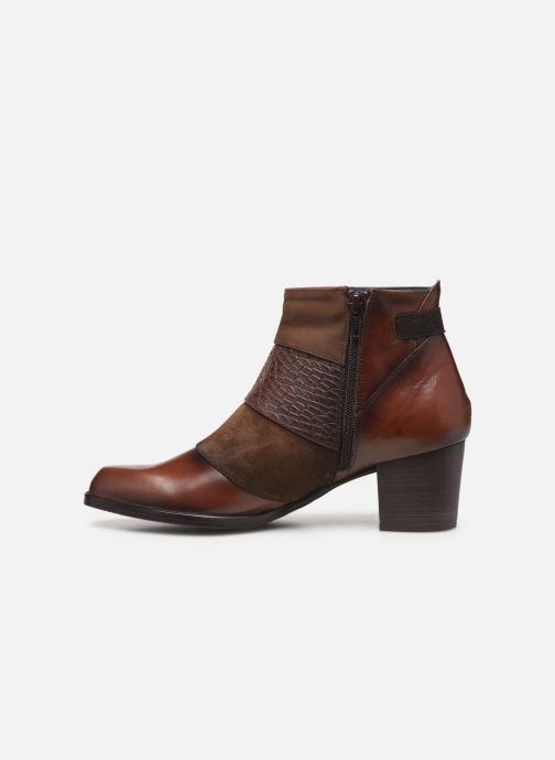 Boots en enkellaarsjes Dorking Zuma 8028 Bruin voorkant