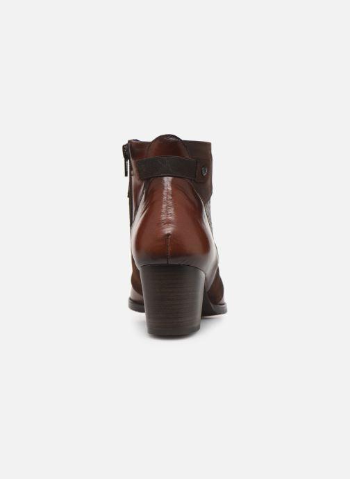 Bottines et boots Dorking Zuma 8028 Marron vue droite