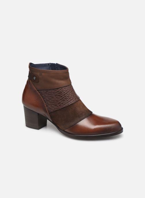 Boots en enkellaarsjes Dorking Zuma 8028 Bruin detail