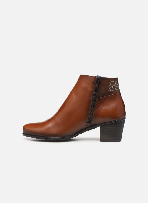 Bottines et boots Dorking Brisda 7927 Marron vue face