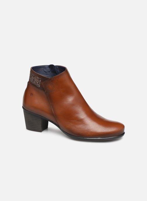 Bottines et boots Dorking Brisda 7927 Marron vue détail/paire