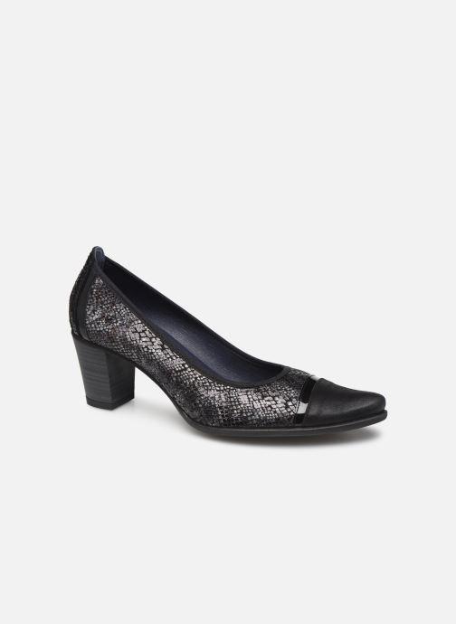 Høje hæle Dorking Deisy 7588 Sort detaljeret billede af skoene