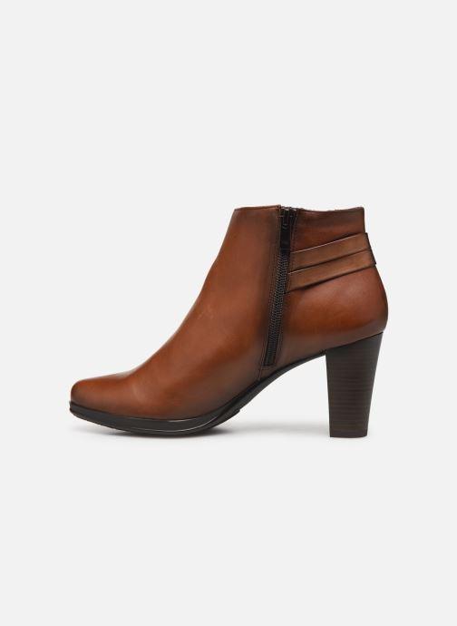 Bottines et boots Dorking Luna 7934 Marron vue face