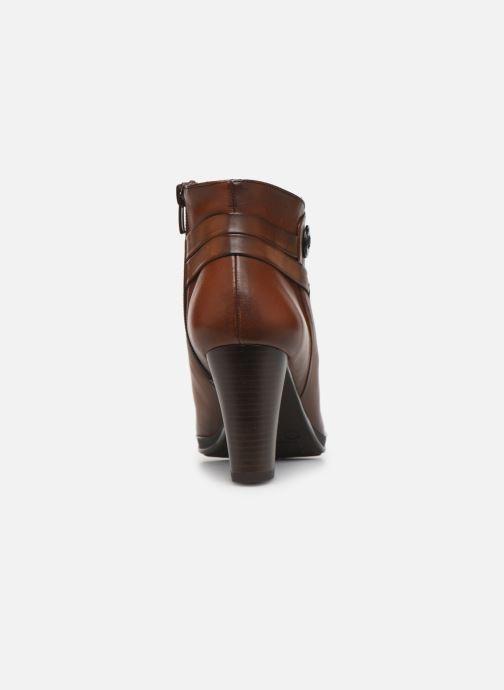 Bottines et boots Dorking Luna 7934 Marron vue droite