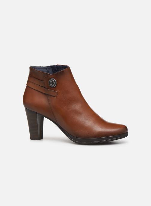Bottines et boots Dorking Luna 7934 Marron vue derrière