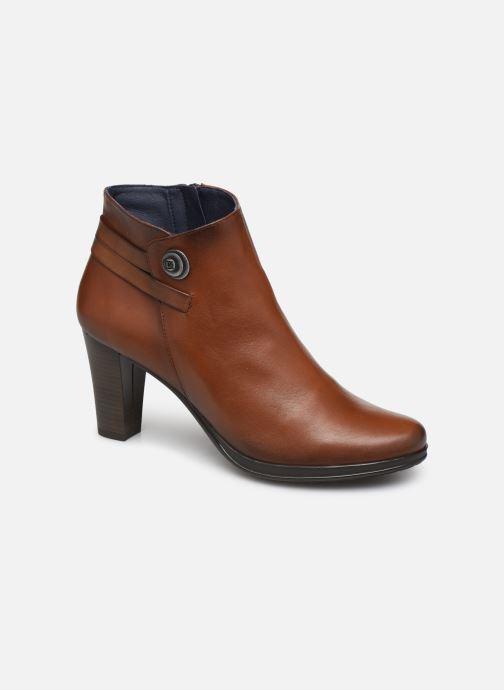 Bottines et boots Dorking Luna 7934 Marron vue détail/paire